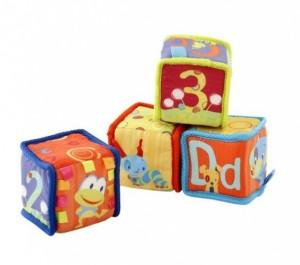 Мягкие развивающие кубики Bright Starts