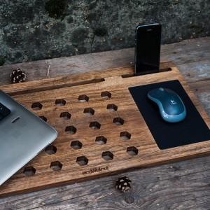 фото Деск для ноутбука из дерева #3