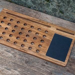 фото Деск для ноутбука из дерева #2