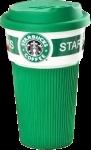 Подарок Чашка Starbucks Еco Life (зеленая)