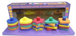Мой первый развивающий набор-сортер. Формы и цвета