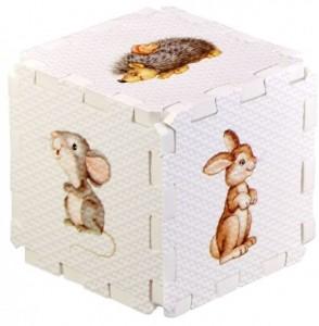 Кубик EVA. Лесные животные