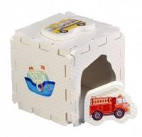Кубик EVA - сортер. Транспорт