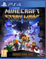 игра Minecraft: Story Mode PS4