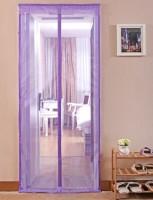 Подарок Дверная антимоскитная сетка на магнитах фиолетовая