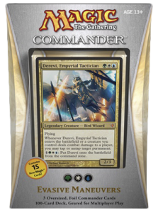 MTG Commander 2013 - Evasive Maneuvers (green, white, blue)