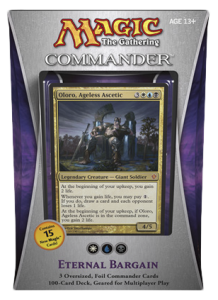 MTG Commander 2013 - Eternal Bargain (white, blue, black)
