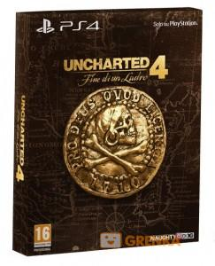 игра Uncharted 4: A Thief's End Special Edition PS4 - Uncharted 4: Путь вора - Русская версия