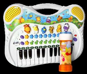 Музыкальная игрушка 'Поющие Друзья' (Мыльные пузыри 'Винни Пух' в подарок!)