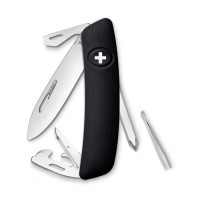 Швейцарский нож Swiza D04 черный (KNI.0040.1010)