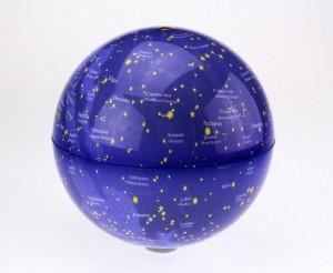 Подарок Глобус 'Звездное небо' вращающийся 20 см