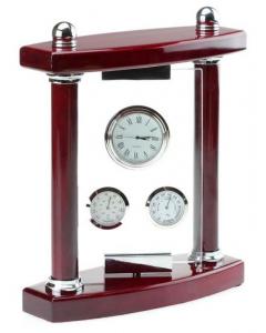 Подарок Бизнес часы с колоннами 'Классик'