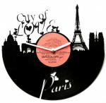Подарок Часы настенные 'Париж Город Любви'