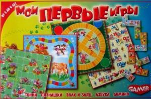 Настольная игра 'Мои первые игры' (8005)