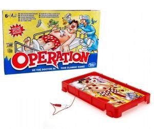 Настольная игра 'Операция' обновленная (B2176)