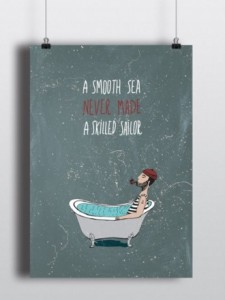 Подарок Постер 'Sailor'