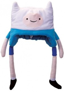 Шапка плюшевая Adventure Time 'Finn'