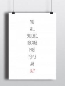 Подарок Постер 'You will succeed'