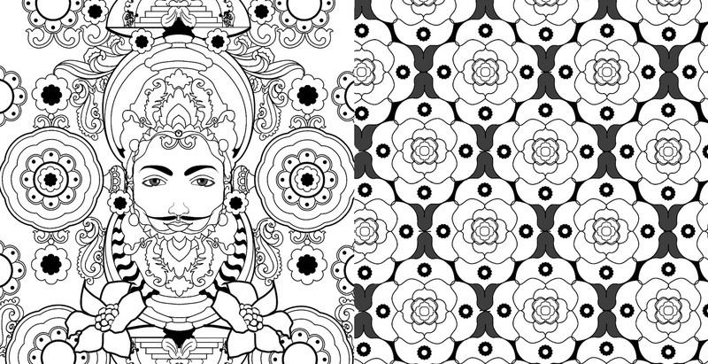 мандалы раскраска антистресс для творчества и вдохновения