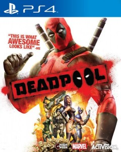 игра Deadpool PS4
