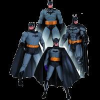 фигурка Набор фигурок Batman '75th Anniversary-1' (4 шт)