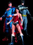 фигурка Набор фигурок Dc Comics 'Batman, Wonder Woman, Superman' (3 шт.)