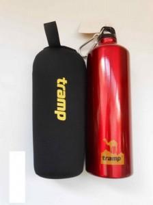 фото Бутылка алюминиевая в чехле Tramp TRC-032 (1 л) #2
