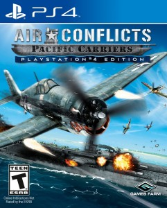 игра Air Conflicts: Pacific Carriers PS4 - Русская версия