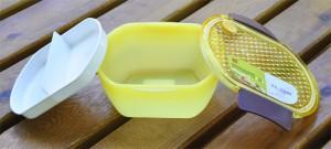 Подарок Ланч Бокс 'Convenient' для обедов (желтый) 850 мл