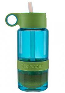 фото Уникальная бутылка для самодельного лимонада или цитрусовых напитков (зеленый) 450 мл #4