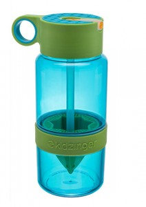 фото Уникальная бутылка для самодельного лимонада или цитрусовых напитков (зеленый) 450 мл #2