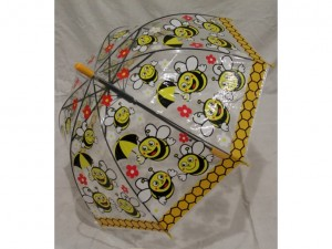Детский зонт 'Пчелки' желтый