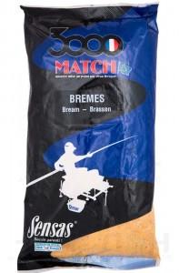 Прикормка Sensas 3000 Match Bream 1 кг