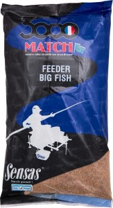Прикормка Sensas 3000 Match Feeder Big Fish 1 кг
