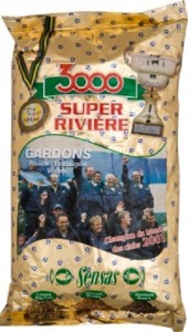 Прикормка Sensas 3000 Super River Roach 1 кг