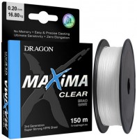 Шнур Dragon Maxima Clear (0.1mm 150m 6.7kg)