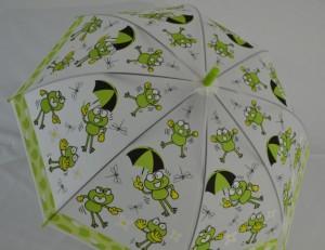 Детский зонт 'Лягушонок' зеленый