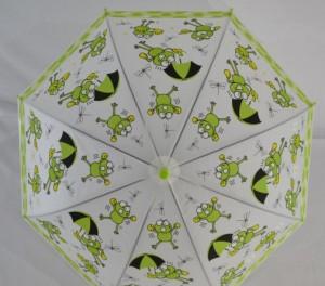 фото Детский зонт 'Лягушонок' зеленый #3