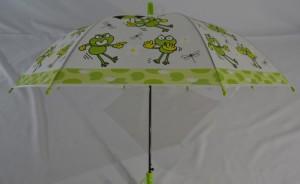 фото Детский зонт 'Лягушонок' зеленый #4