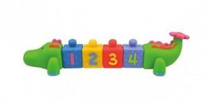 Сортер резиновый с цифрами 'Крокоблоко' K's Kids (10611)