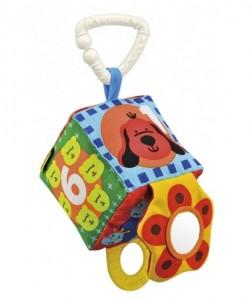 Погремушка с прорезывателем 'Мой первый кубик' K's Kids (10636)