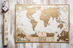 Подарок Скретч карта мира My Antique Map