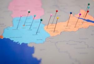 фото Скретч карта Украины My SuperUkraine Map #3