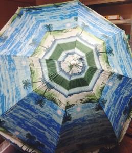 фото Комплект: зонт пляжный 1.8 м с наклоном Anti-UV и Винт крепежный SS-Z-1 #2