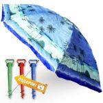Подарок Комплект: зонт пляжный 1.8 м с наклоном Anti-UV и Винт крепежный SS-Z-1
