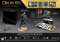 игра Deus Ex. Mankind Divided. Collector's Edition (PS4)