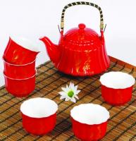 Подарок Набор посуды для чаепития 'Танец огня' (MT-138)