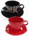 Подарок Набор чашек с блюдцем 'Ли Ван', 6 шт. (AX111964-E)