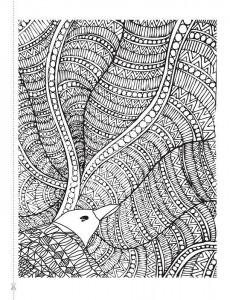 фото страниц Крылья мечты. Медитативная раскраска для взрослых #5