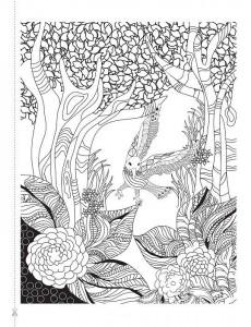 фото страниц Крылья мечты. Медитативная раскраска для взрослых #4